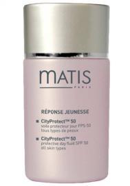 Matis Paris - Ochranný fluid pre všetky typy pleti CityProtect TM 50 SPF 50