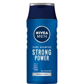Nivea - Šampon pro muže Strong Power 250 ml