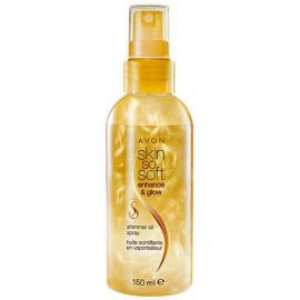 Avon - Rozjasňující třpytivý tělový olej Skin so Soft Enhance & Glow (Shimmer Oil Spray) 150 ml