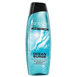 Avon - Sprchový gel na tělo a vlasy pro muže Senses Ocean Surge 500 ml