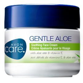 Avon - Zklidňující pleťový krém s Aloe Vera a Vitaminem E Care Gentle Aloe 100 ml
