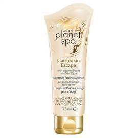 Avon - Rozjasňující pleťová masážní maska s výtažky z Perel a Mořských Řas Planet Spa Caribbean Escape 75 ml