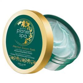 Avon - Hydratační tělový krém s Cedrem a Eukalyptem z ruských lázní Baňa Planet Spa Herbal Steam Bath 200 ml