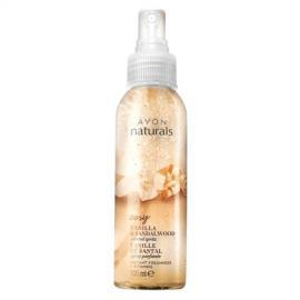Avon - Tělový sprej s Vanilkou a Santalovým Dřevem Naturals 100 ml