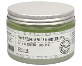 Sefiros - Tělový peeling se solí a olejem Eucalyptus (Salt & Oil Bodyscrub) 300 ml