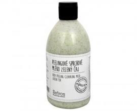 Sefiros - Peelingové sprchové mléko Zelený čaj (Body Peeling Cleansing Milk) 500 ml