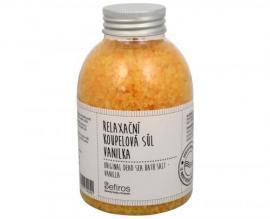Sefiros - Relaxační koupelová sůl Vanilka (Original Dead Sea Bath Salt) 500 g