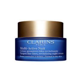 Clarins - Revitalizační noční krém proti jemným vráskám pro normální a suchou pleť Multi-Active (Revitalizing Night Cream ) 50 ml