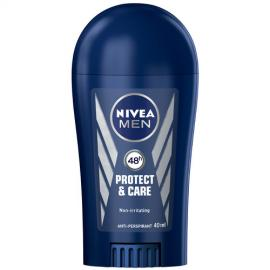 Nivea - Tuhý antiperspirant pro muže Protect & Care 40 ml