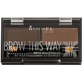 Rimmel - Paletka pro dokonalé obočí Brow This Way ( Powder Kit) 2,4 g
