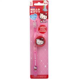 VitalCare - Zubní kartáček s krytkou Hello Kitty