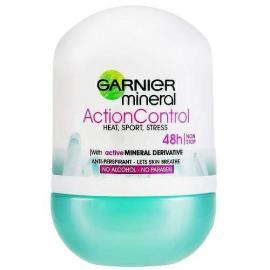 Garnier - Minerální deodorant Action Control Roll-on 48h pro ženy 50 ml