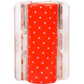 Linziclip - Velký skřipec MAXI - oranžový s puntíky
