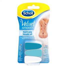 Scholl - Náhradní hlavice do elektrického pilníku na nehty Velvet Smooth