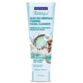 Freeman - Pěnivé čistící mléko na obličej s minerály z Mrtvého moře 175 ml
