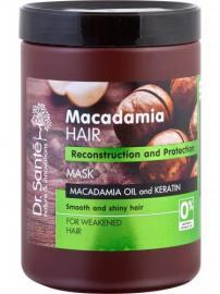 Dr. Santé - Macadamia krémová maska pre oslabené vlasy (Macademia Oil and Keratin)