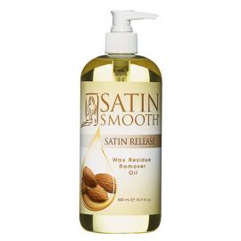 Satin Smooth - Čistící olej po depilaci (Wax Residue Remover Oil) 473 ml