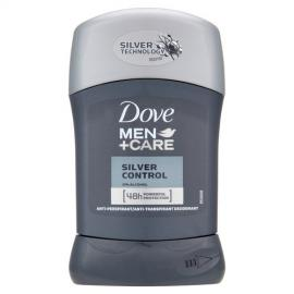 Dove - Tuhý deodorant Men+Care Silver Control 50 ml