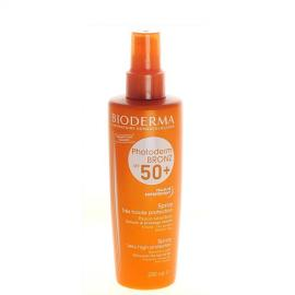Bioderma - Sprej pro citlivou pleť SPF 50+ Photoderm Bronz (Spray Very Hight Protection) 200 ml